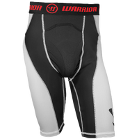 Warrior Nutt Hutt 3 Compression Shorts - Men's - Black / White