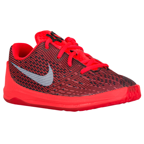 Nike KD 8 Boys Infant Basketball Shoes Bright Crimson Black Cool Grey White  low-cost