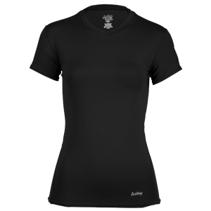 Eastbay EVAPOR Short Sleeve Compression Top - Women's - Black