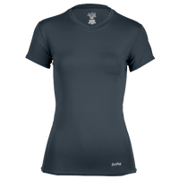 Eastbay EVAPOR Short Sleeve Compression Top - Women's - Grey / Grey