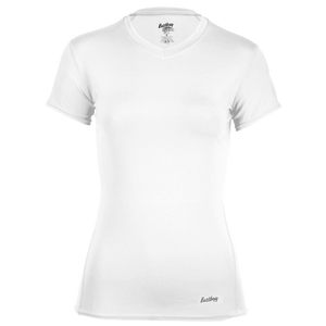 Eastbay EVAPOR Short Sleeve Compression Top - Women's - White