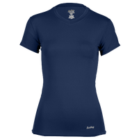 Eastbay EVAPOR Short Sleeve Compression Top - Women's - Navy / Navy