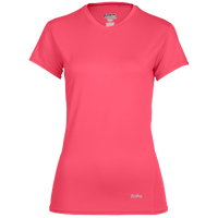 Eastbay EVAPOR Short Sleeve Compression Top - Women's - Pink / Pink