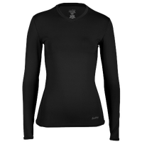 Eastbay EVAPOR Compression Top - Women's - All Black / Black