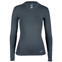 Eastbay EVAPOR Compression Top - Women's - Grey / Grey