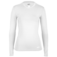 Eastbay EVAPOR Compression Top - Women's - All White / White