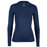 Eastbay EVAPOR Compression Top - Women's - Navy / Navy