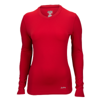 Eastbay EVAPOR Compression Top - Women's - Red / Red