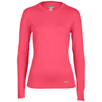 Eastbay EVAPOR Compression Top - Women's - Pink / Pink