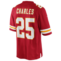 Nike NFL Limited Jersey - Men's - Jamaal Charles - Kansas City Chiefs - Red / White