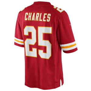 Nike NFL Limited Jersey - Men's - Jamaal Charles - Kansas City Chiefs - University Red