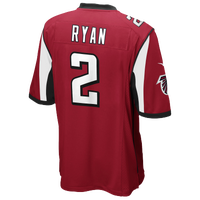 Nike NFL Game Day Jersey - Men's - Matt Ryan - Atlanta Falcons - Red / White