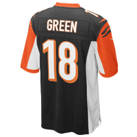 Nike NFL Game Day Jersey - Men's - Cincinnati Bengals - Black / Orange