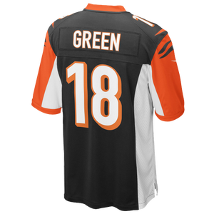 Nike NFL Game Day Jersey - Men's - Aj Green - Cincinnati Bengals - Black