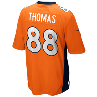 Nike NFL Game Day Jersey - Men's - Demarius Thomas - Denver Broncos - Orange / White