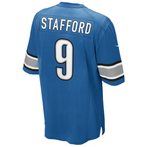 Nike NFL Game Day Jersey - Men's - Matthew Stafford - Detroit Lions - Battle Blue