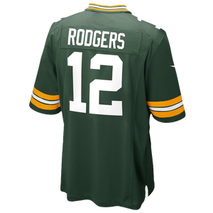 Nike NFL Game Day Jersey - Men's - Aaron Rodgers - Green Bay Packers - Fir