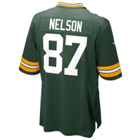 Nike NFL Game Day Jersey - Men's - Jordy Nelson - Green Bay Packers - Dark Green / White