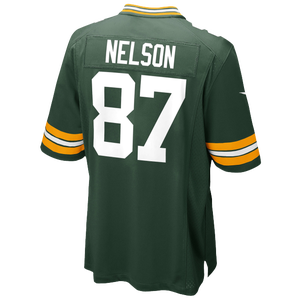 Nike NFL Game Day Jersey - Men's - Jordy Nelson - Green Bay Packers - Fir