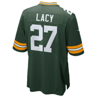 Nike NFL Game Day Jersey - Men's - Eddie Lacy - Green Bay Packers - Dark Green / White