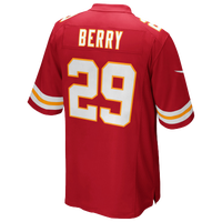 Nike NFL Game Day Jersey - Men's - Eric Berry - Kansas City Chiefs - Red / White