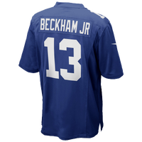 Nike NFL Game Day Jersey - Men's - Odell Beckham - New York Giants - Blue / White