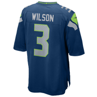 Nike NFL Game Day Jersey - Men's - Seattle Seahawks - Navy / Grey