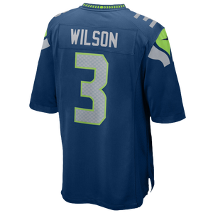 Nike NFL Game Day Jersey - Men's - Russell Wilson - Seattle Seahawks - Marine
