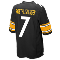 Nike NFL Game Day Jersey - Men's - Ben Roethlisberger - Pittsburgh Steelers - Black / Gold