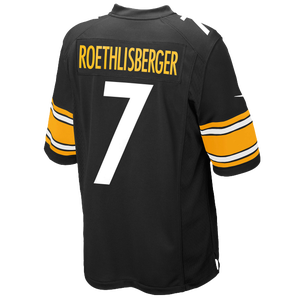 Nike NFL Game Day Jersey - Men's - Ben Roethlisberger - Pittsburgh Steelers - Black