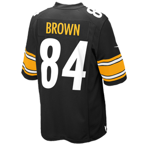 Nike NFL Game Day Jersey - Men's - Antonio Brown - Pittsburgh Steelers - Black