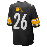 Nike NFL Game Day Jersey - Men's - Le Bell - Pittsburgh Steelers - Black / White