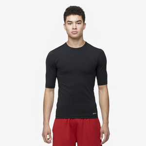 Eastbay EVAPOR Half Sleeve Compression Top - Men's - Black