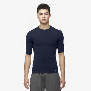 Eastbay EVAPOR Half Sleeve Compression Top - Men's - Navy
