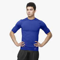 Eastbay EVAPOR Half Sleeve Compression Top - Men's - Blue / Blue