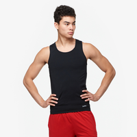 Eastbay EVAPOR Compression Tank - Men's - All Black / Black