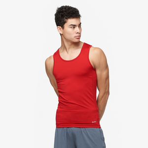 Eastbay EVAPOR Compression Tank - Men's - Scarlet