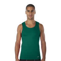 Eastbay EVAPOR Compression Tank - Men's - Dark Green / Dark Green