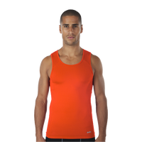 Eastbay EVAPOR Compression Tank - Men's - Orange / Orange