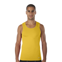 Eastbay EVAPOR Compression Tank - Men's - Gold / Gold