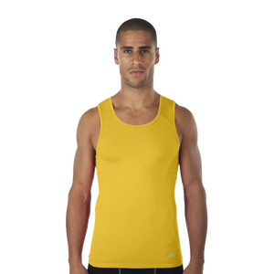 Eastbay EVAPOR Compression Tank - Men's - Gold
