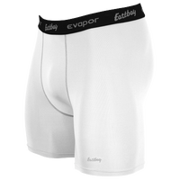 "Eastbay EVAPOR 6"" Compression Short 2.0 - Men's - White / Black"