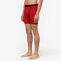 "Eastbay EVAPOR 6"" Compression Short 2.0 - Men's - Red / Black"