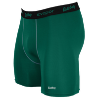"Eastbay EVAPOR 6"" Compression Short 2.0 - Men's - Green / Black"