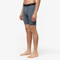 "Eastbay EVAPOR 8"" Compression Shorts 2.0 - Men's - Grey / Black"
