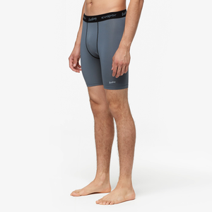"Eastbay EVAPOR 8"" Compression Shorts 2.0 - Men's - Charcoal"