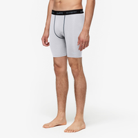 "Eastbay EVAPOR 8"" Compression Shorts 2.0 - Men's - White / Black"