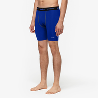"Eastbay EVAPOR 8"" Compression Short 2.0 - Men's - Blue / Black"