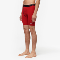 "Eastbay EVAPOR 8"" Compression Shorts 2.0 - Men's - Red / Black"
