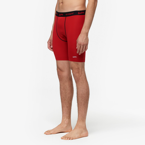 "Eastbay EVAPOR 8"" Compression Shorts 2.0 - Men's - Scarlet"